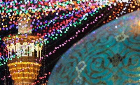 Eid al-Adha celebrations underway at Imam Reza (AS) holy shrine