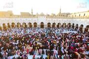 نماز عید قربان در مسجد الحسین (ع) و الازهر برگزار شد+ تصاویر