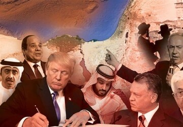ارتجاع عرب در مسیر بزرگ ترین خیانت قرن