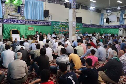 تصاویر/ قرائت دعای عرفه در حرم حضرت زینب(س)