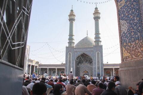 تصاویر/ مراسم پرفیض دعای عرفه در حرم حضرت معصومه(س)-2