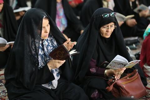 تصاویر/ مراسم قرائت دعای عرفه در بجنورد