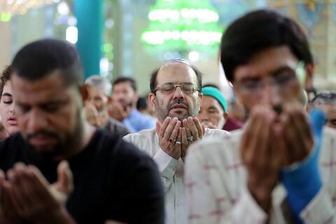تصاویر/ اقامه نماز عید سعید قربان در مسجد مقدس جمکران