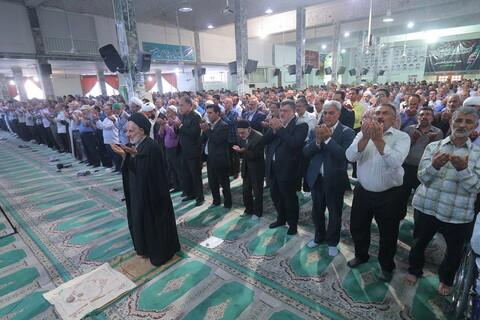 تصاویر/ اقامه نماز عید قربان در مسجد امام حسین(ع) بیرجند