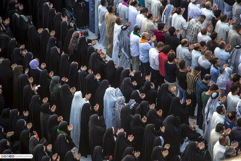 بالصور / إقامة صلاة عيد الأضحى المبارك في النجف الأشرف وكربلاء المقدسة
