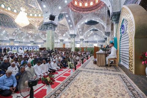 بالصور / إقامة صلاة عيد الأضحى المبارك في الكاظمين والعسكريين