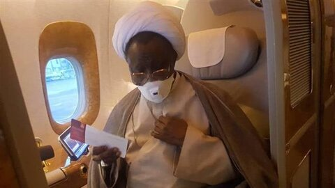 Sheikh Zakzaky and his wife go to India for medical care