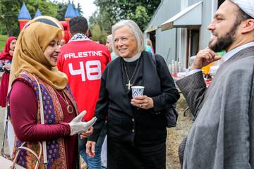 مراسم افتتاحیه یک مسجد شیعیان در واشنگتن برگزار شد