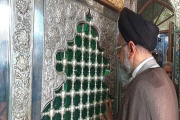 وزیر اطلاعات به مقام شامخ شهدای سمنان ادای احترام کرد