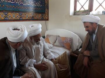 دیدار رئیس دانشگاه مذاهب اسلامی با آیت الله خادم الشریعه