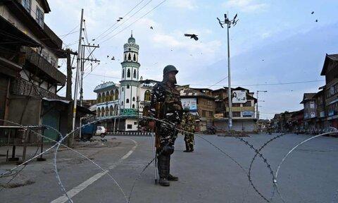 گزارش گاردین از 8امین روز محاصره کشمیر