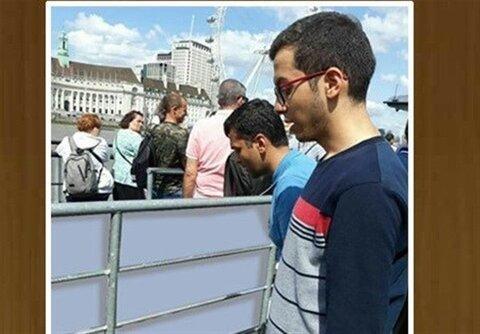 نماز بر روی پل لندن