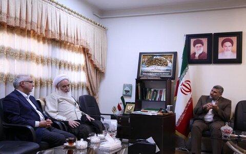 آیت الله علماء در دیدار با دکتر عبدالرضا مصری نایب رئیس مجلس شورای اسلامی و نماینده مردم کرمانشاه