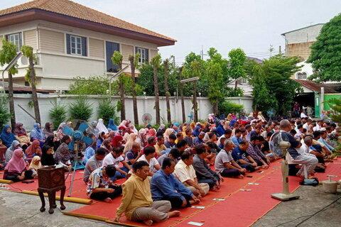 نماز عید قربان در تایلند