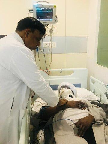 آغاز روند درمانی شیخ زکزاکی
