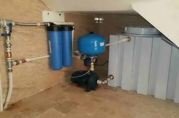 حکم استفاده از پمپ آب در ورودی لوله آب منزل