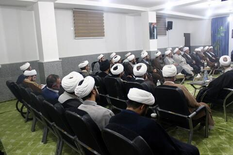 تصاویر/ نشست «هم اندیشی روحانیت؛ کادر سازی، تمدن اسلامی» در بجنورد