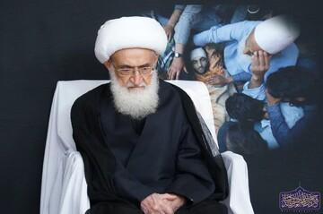 آية الله نوري الهمداني يدين الجريمة الوحشية بحق الشعب الكشميري المظلوم