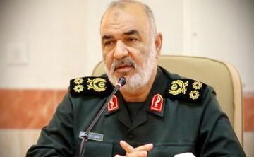 تبریک سردار سلامی به فرمانده سپاه الغدیر