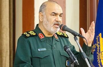 سردار سلامی : ملت ایران در آشوب اخیر کشور سربلند بیرون آمد