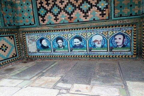 آرامگاه نامناسب علمای   قزوین