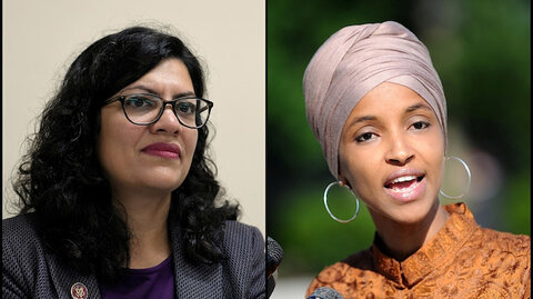 Israel weighs barring visit by Muslim US lawmakers Tlaib, Omar