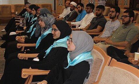 بالصور/ جمع من شباب الشيعة في بريطانيا يتفقدون دار القرآن للعلامة الطباطبائي (ره) بقم المقدسة