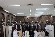 نجف اشرف کے مدرسہ محمدیہ کے طالب علموں نے اسلامی تحقیقاتی فاؤنڈیشن کا دورہ