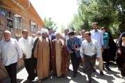 تصاویر/ جلسه درس اخلاق هفتگی آیت الله العظمی جوادی آملی در روستای احمد آباد دماوند