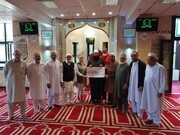 Mosque donates £964 to Hospice