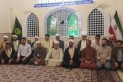 Iraqi Sunni Friday prayer leaders visit Imam Reza (AS) holy shrine