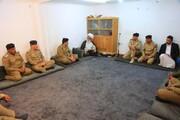 آیت الله بشیر نجفی: نیروهای امنیتی با قاطعیت با انتشار مواد مخدر مبارزه کنند