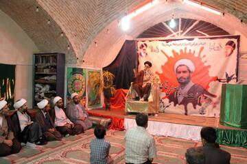 تصاویر/ مراسم یادبود شهید حجت الاسلام مصطفی قاسمی در مسجدی که امام جماعتش بوده است