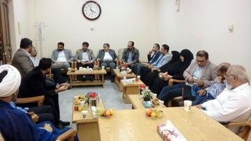 بازدید مدیر عامل موزه ملک  از کتابخانه مدرسه علمیه فیضیه