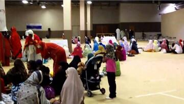 کمک رسانی مسلمانان شهرهای مختلف آمریکا در ایام عید قربان