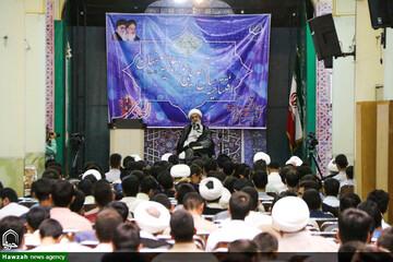 افتتاح سال تحصیلی جدید حوزه اصفهان به روایت تصویر
