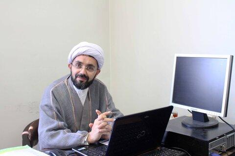 حجت الاسلام محمد رضا محمدی پیام مسئول مرکز رسیدگی به امور مساجد همدان