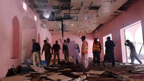 انفجار تروریستی مسجد کویته پاکستان