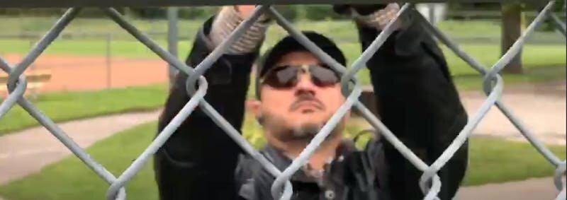 فیلمبرداری فرد ناشناس از مسجدی که 2 سال پیش مورد حمله قرار گرفت