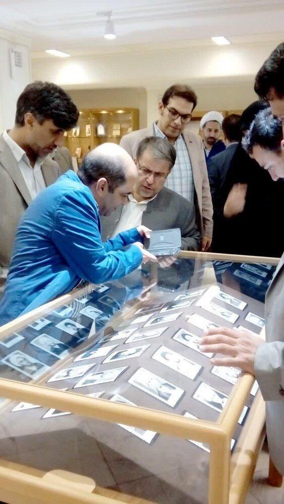 بازدید خواجه سروی از کتابخانه مدرسه علمیه فیضیه