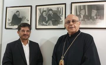 رایزن فرهنگی ایران از اسقف لبنانی برای سفر به ایران دعوت کرد