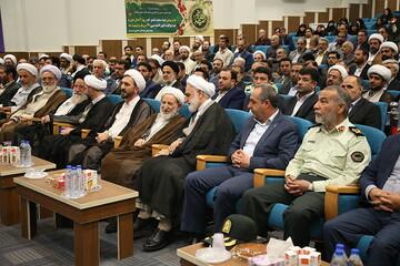 تصاویر/ آیین تودیع و معارفه رئیس کل دادگستری استان قم