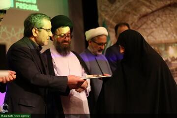 تصاویر/ اختتامیه نهمین جشنواره کتابخوانی رضوی