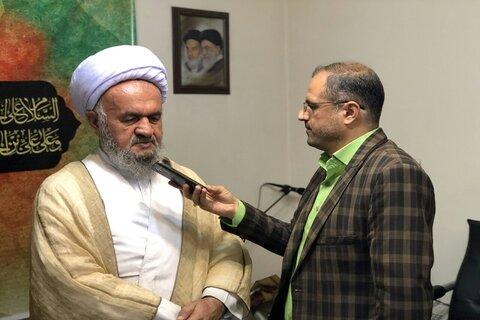 گفتگو با امام جمعه شهرستان تاکستان