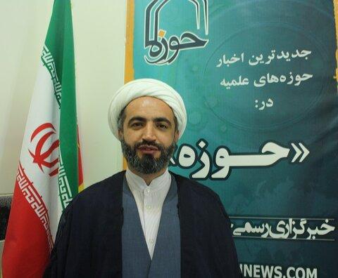 حجت الاسلام مسلم فرهنگیان مدیر مدرسه علمیه امام خمینی(ره) سنقر و کلیایی