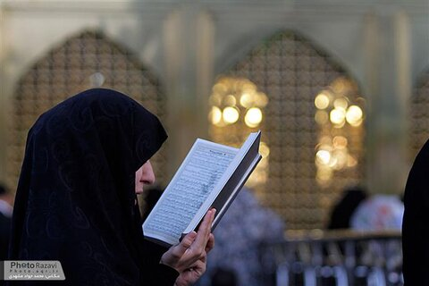 Romanian woman converts to Islam in Razavi shrine