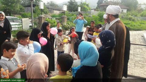 تصاویر/ برگزاری مسابقات برای نوجوانان قرآنی به مناسبت عید غدیرخم
