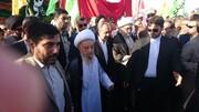 تصویری رپورٹ|قم میں مرجع تقلید آیت اللہ العظمیٰ مکارم شیرازی کی موجودگی میں عید غدیر کی مناسبت سے پیدل مارچ