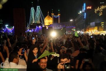تصاویر/ مراسم جشن غدیر در حرم مطهر حضرت فاطمه معصومه(سلام الله علیها)