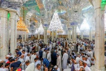 تقرير مصور عن إحياء ذكرى عيد الغدير الأغر في حرم الإمام أمير المؤمنين (ع) بالنجف الأشرف